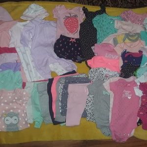 Other - Newborn girls - 45 pieces
